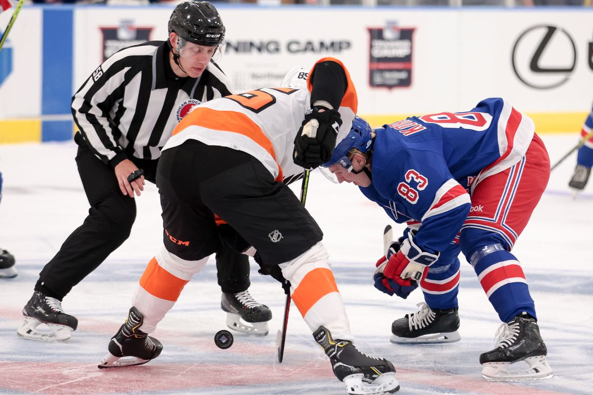NHL: SEP 18 Rangers Devlopment Camp