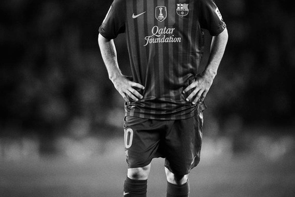 Four season in a row now has Messi finished as the top scorer in the Champions League.