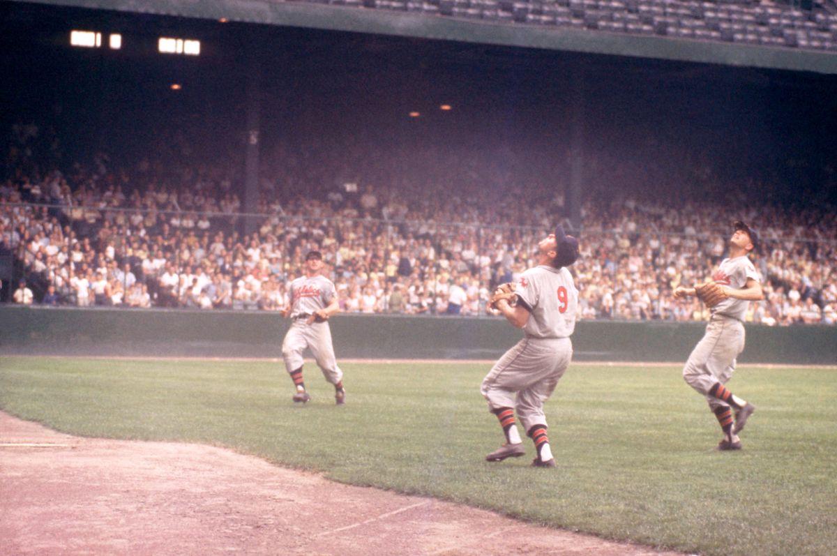 Kansas City Athletics v Detroit Tigers