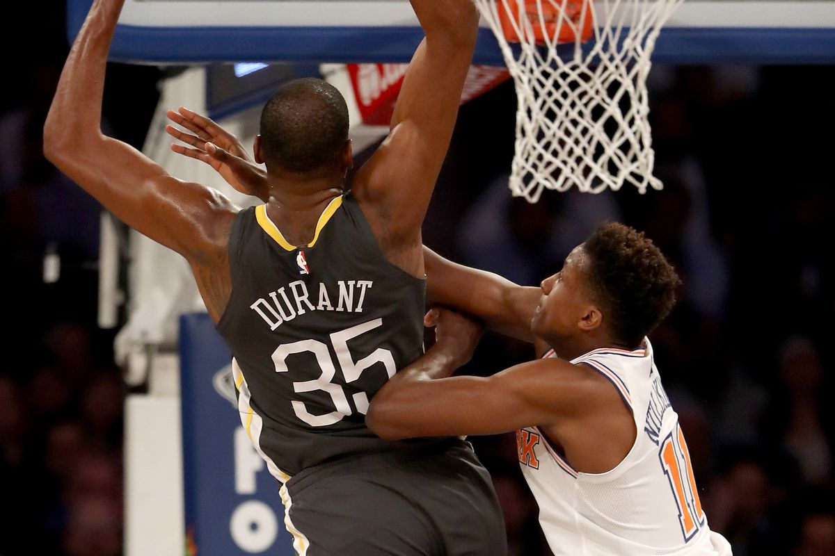 d8ba551ed54f Understanding Kevin Durant s reaction to the Knicks-related speculation -  Golden State Of Mind