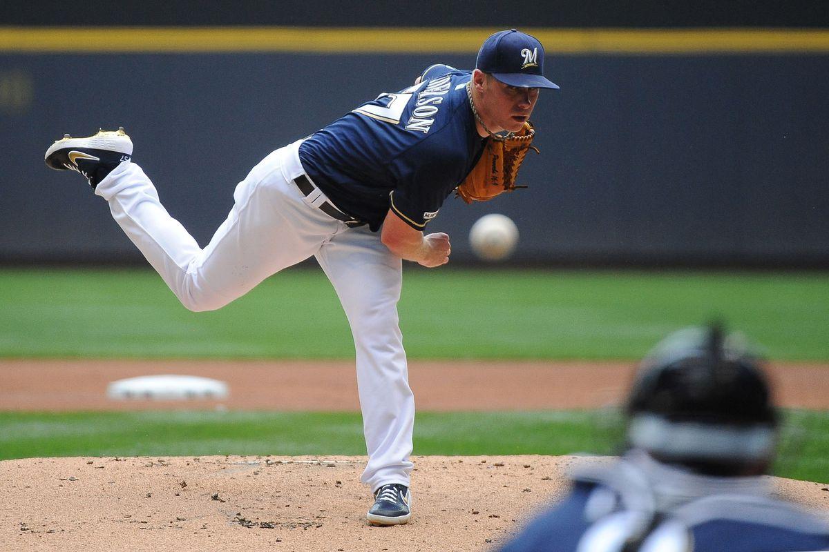MLB: Atlanta Braves at Milwaukee Brewers