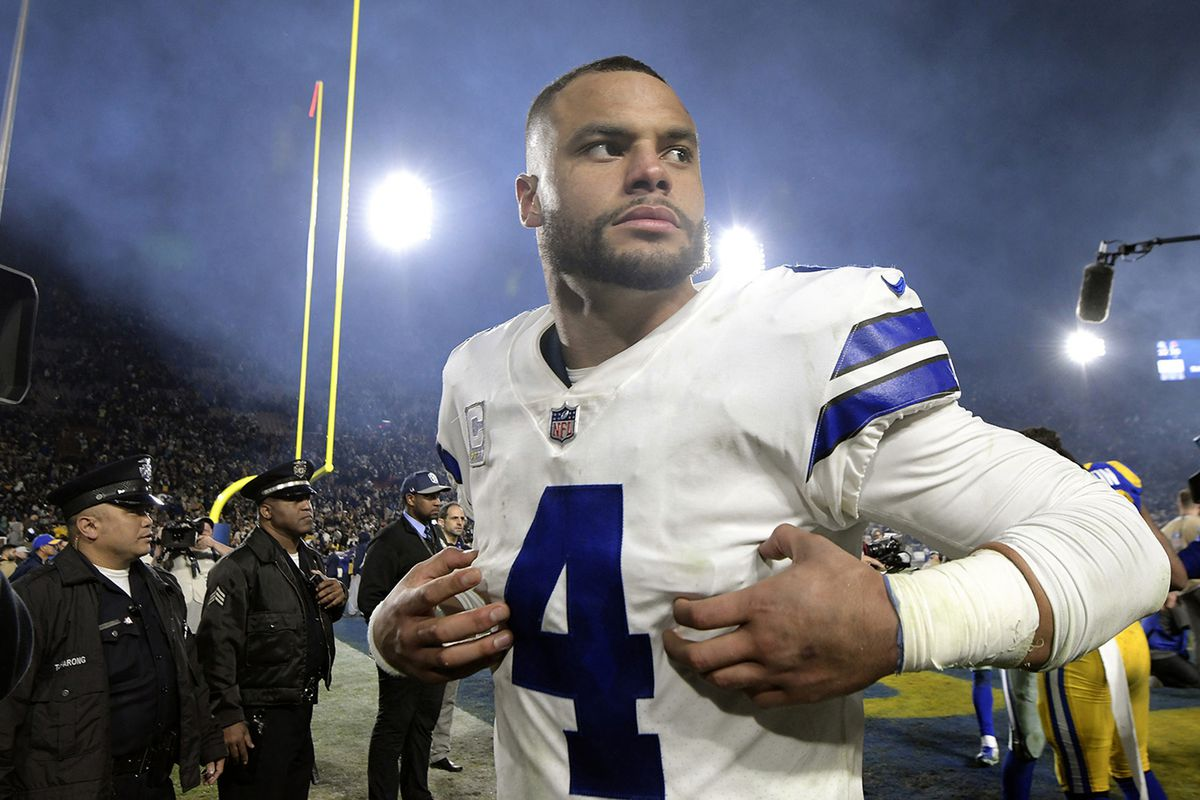 Cowboys QB Dak Prescott remains focused, won't be distracted by contract