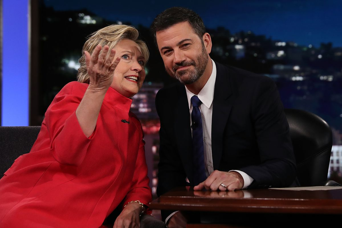 Hillary Clinton Tapes Appearance On 'Jimmy Kimmel Live'