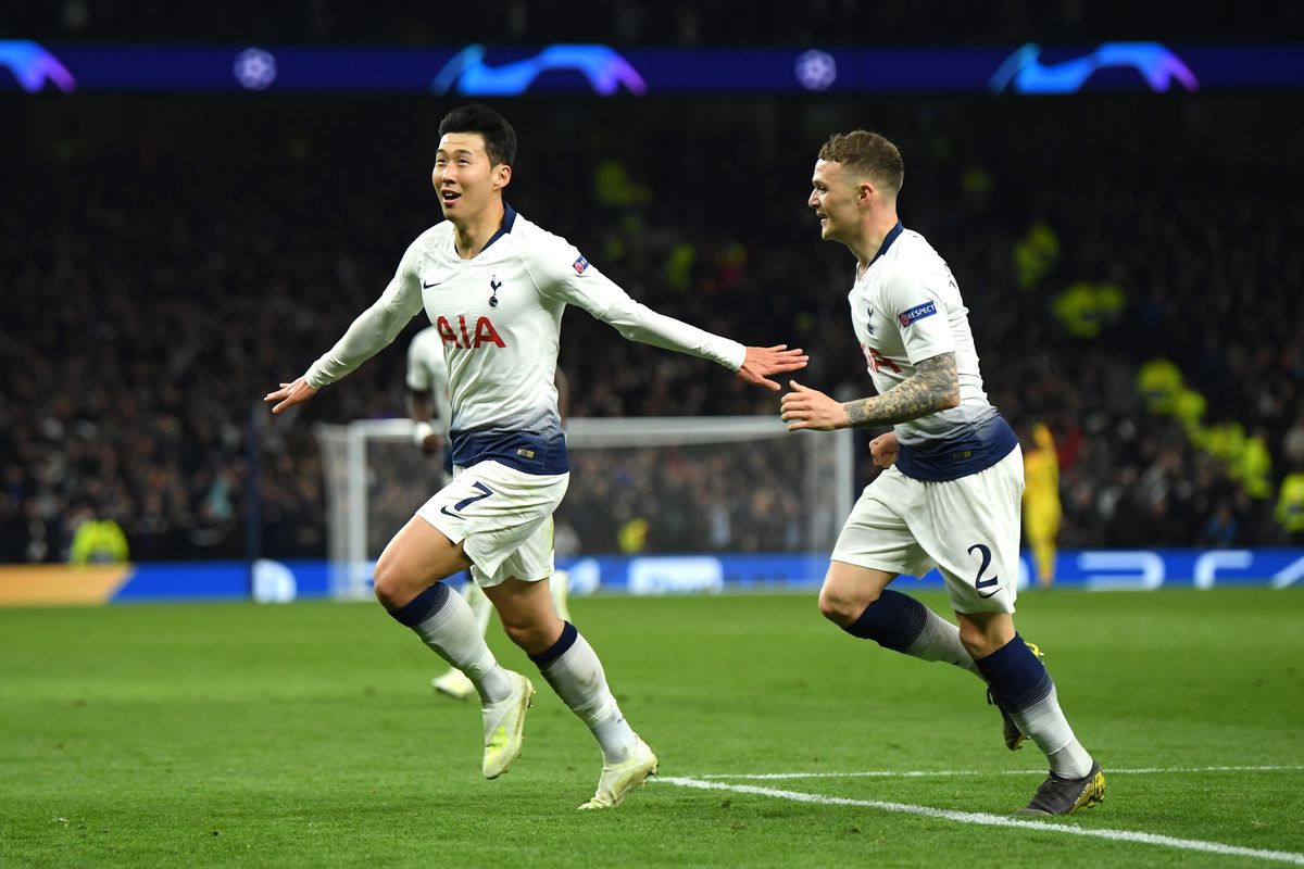 Tottenham Hotspur 1 0 Manchester City Son Snatches Victory In First Champions League Match At Spurs New Stadium Cartilage Free Captain