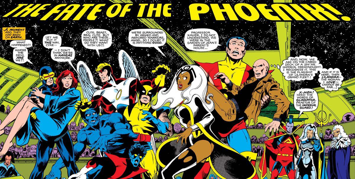 From Uncanny X-Men #137, Marvel Comics (1980).