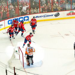 Celebrating Backstrom's First Of Year