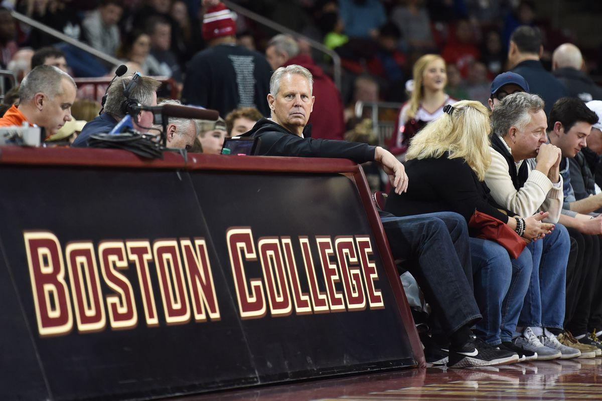 NCAA Basketball: Miami at Boston College