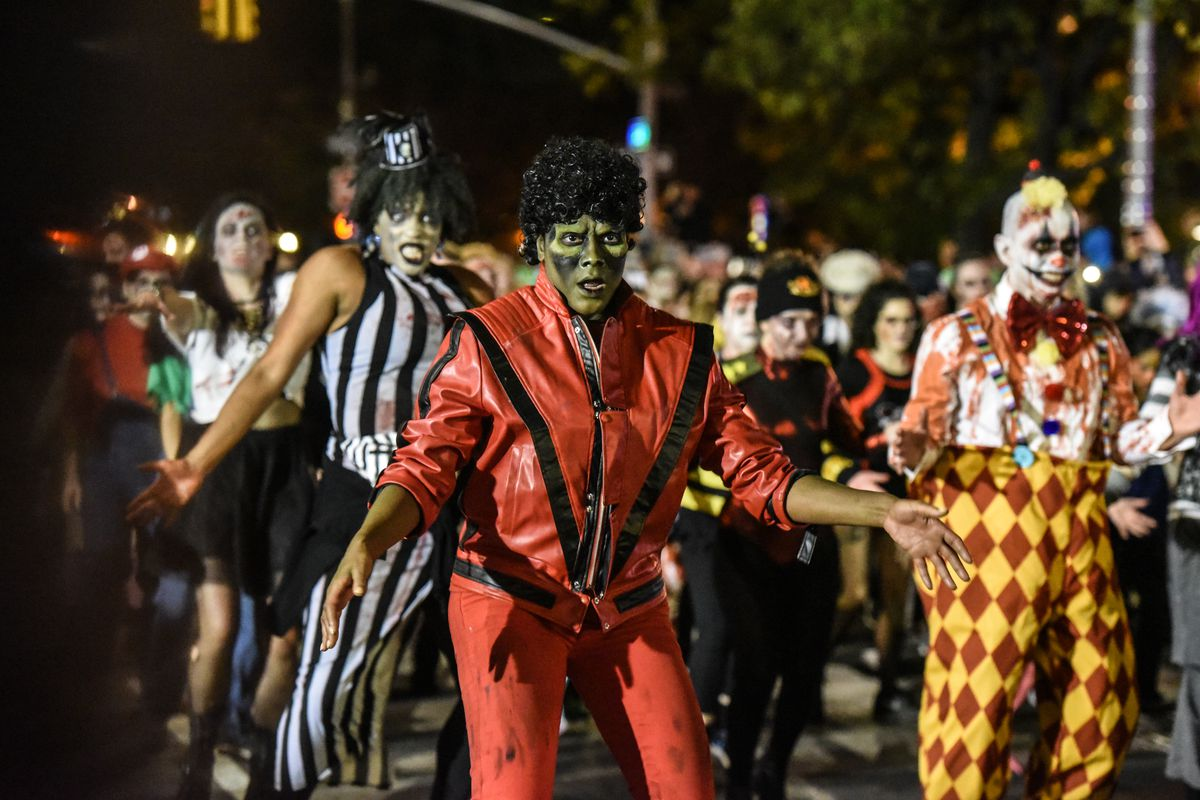 New York City Host Annual Halloween Parade In Greenwich Village