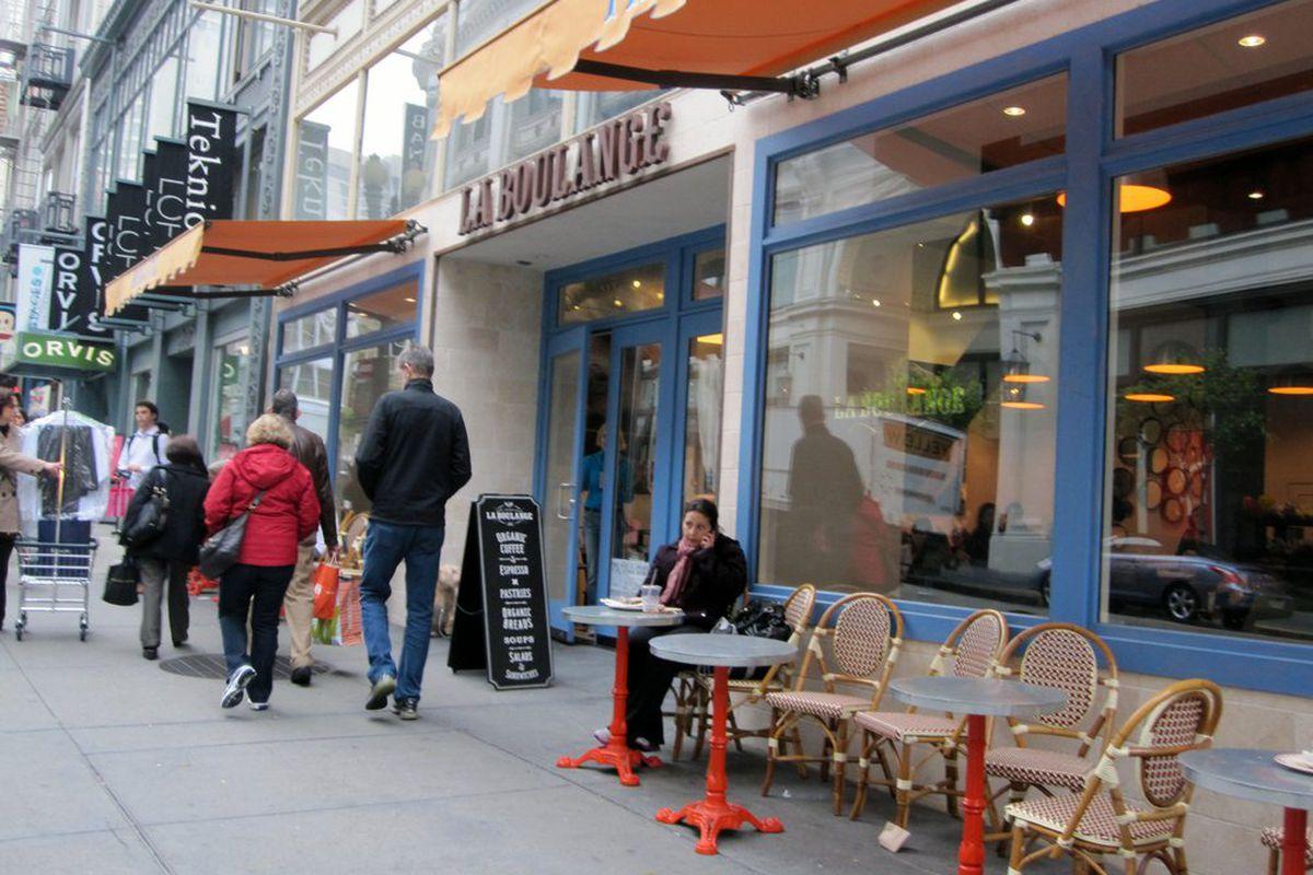 La Boulangerie on Sutter Street