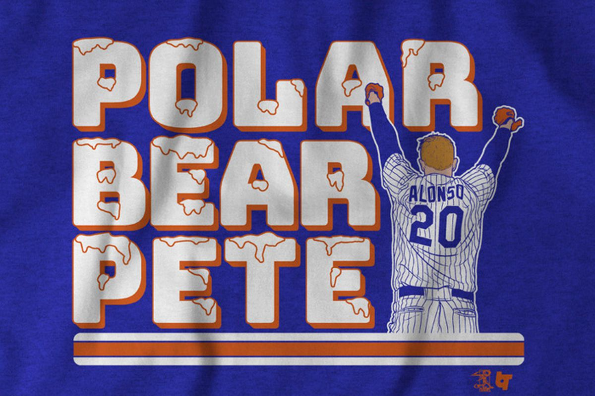 'Polar Bear' Pete Alonso t-shirt now available!