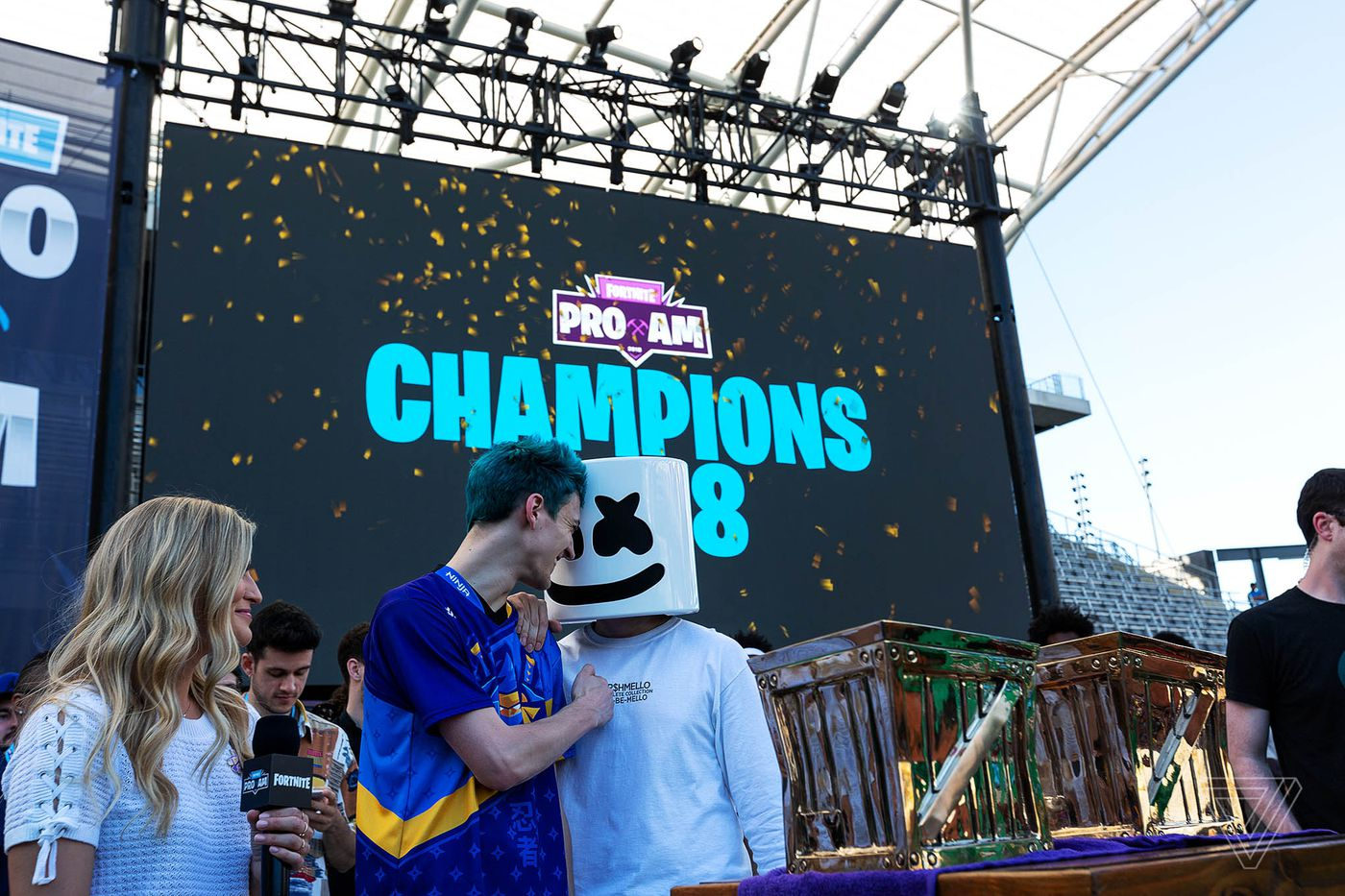 Fortnite's celebrity tournament felt like a trial run for