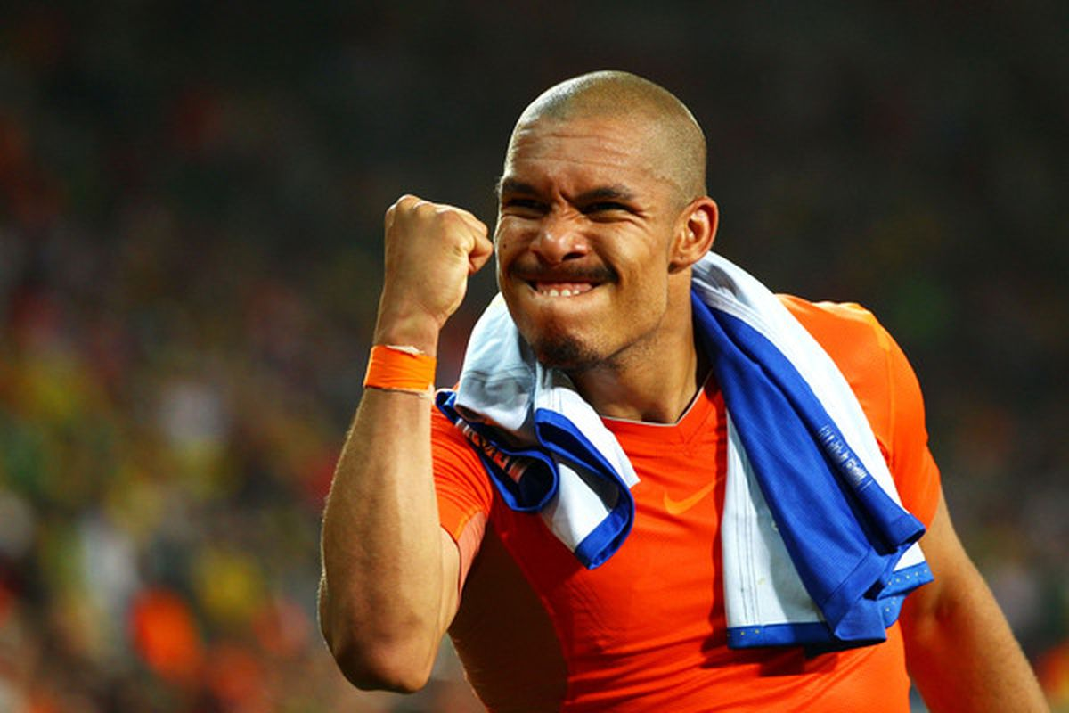 'Nasty' Nigel De Jong was Neil's top man at Eastlands on Sunday, but lets be fair, he could have picked any man in blue.