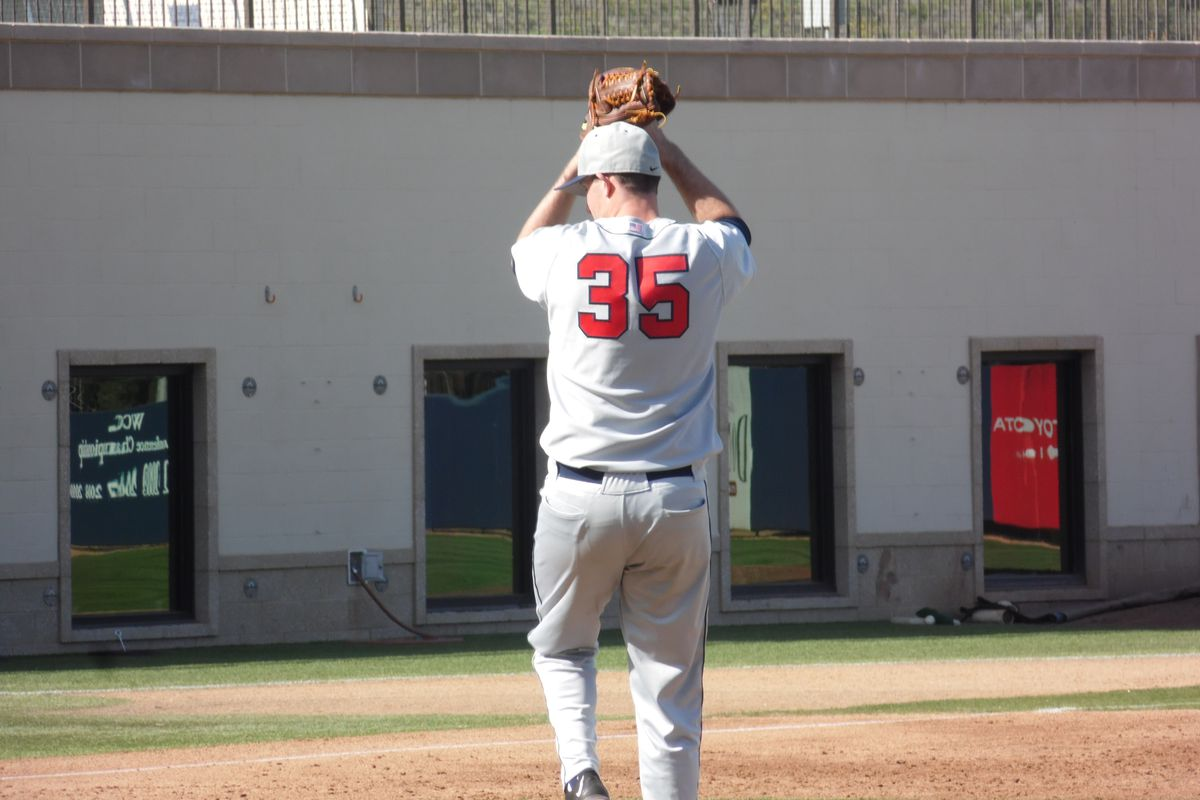 Nathan Bannister pitched another gem at home to open the WSU series