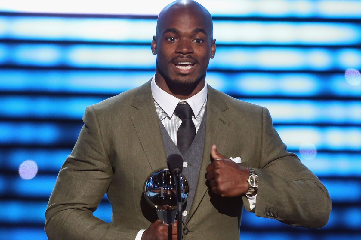 """""""I'm Adrian Peterson, and I approve this message."""""""