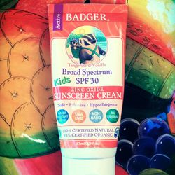Proper sun protection should be a staple of any woman's beauty routine, but many sunscreens contain chemicals that have been connected with cancer, endocrine disruption and other serious health issues. <b>Badger</b> sunscreen is all-natural and uses only