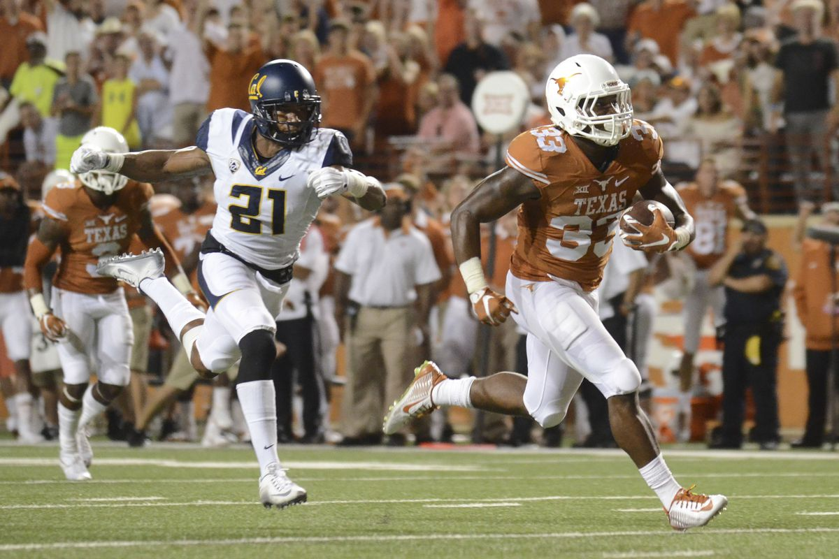 NCAA Football: California at Texas