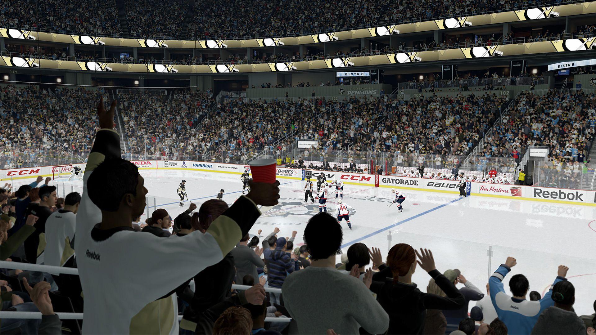 NHL 16 - WAS / PIT screenshot 1920