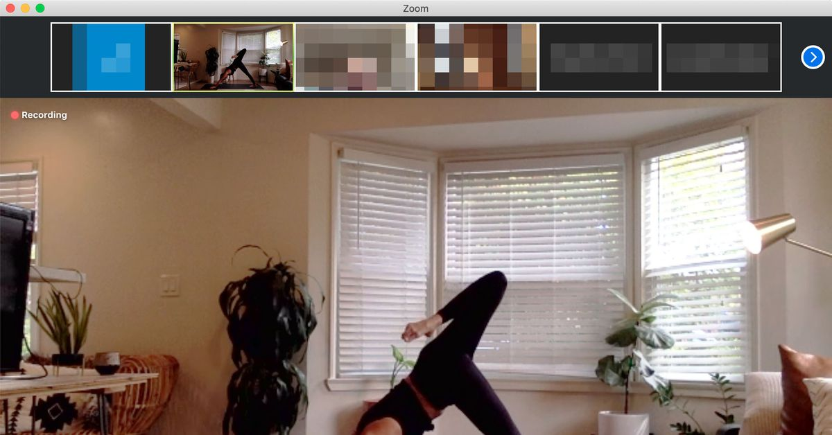 Zoom Is 2020 S Hottest Yoga Studio The Verge
