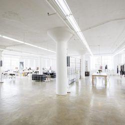 "<a href=""http://la.racked.com/archives/2014/01/07/danish_sensation_anine_bing_walks_us_through_her_la_studio.php""><b>Anine Bing</b></a>'s light and white studio."