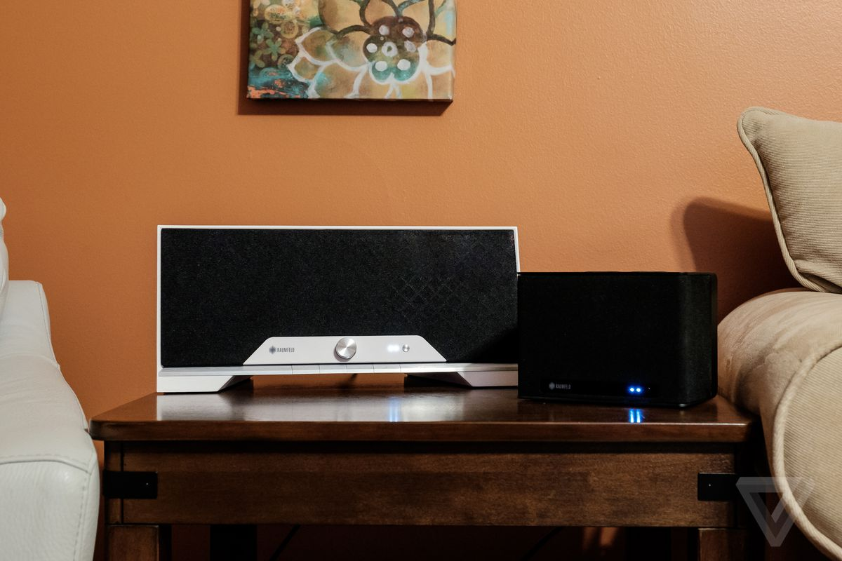 Raumfeld S Wireless Speakers Have Good Sound And Sharp Looks But Poor Support For Streaming Services The Verge