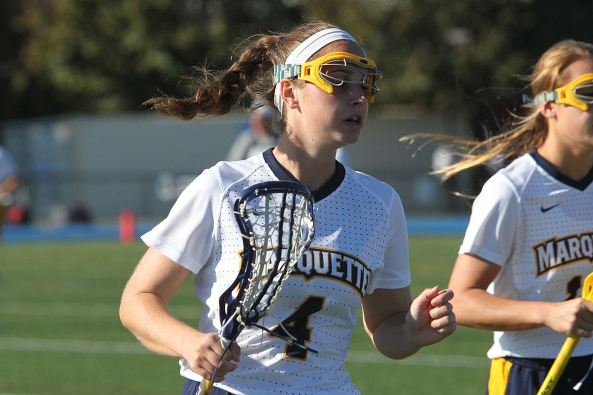 Amanda Bochniak led the way for Marquette with four points against Vanderbilt