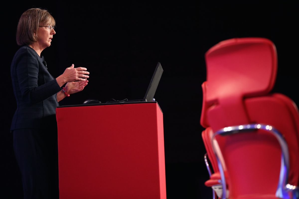 Mary Meeker delivers her annual Internet Trends report at Code 2014.