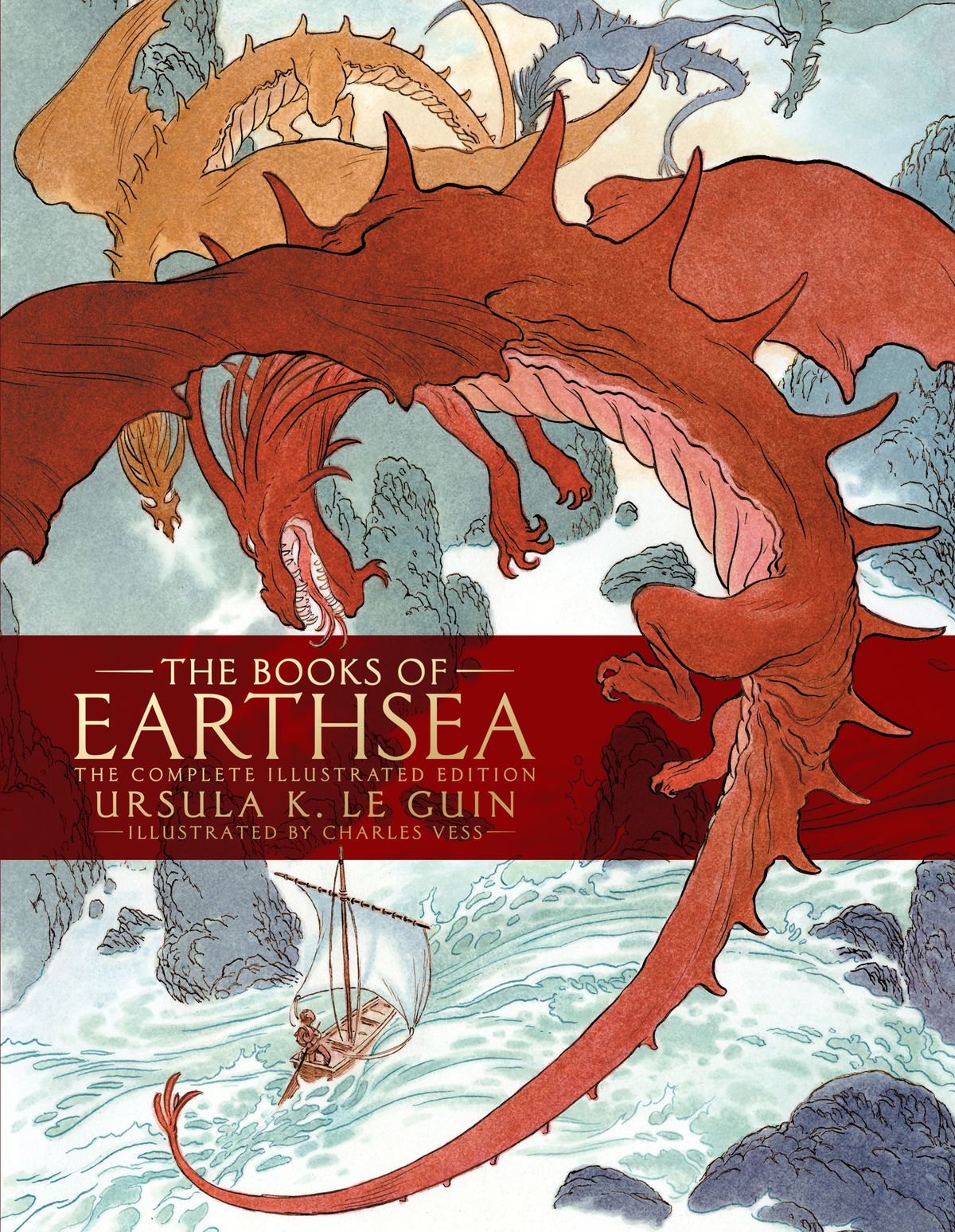 Image result for This Illustrated Collection Of Ursula K. LeGuin's Earthsea Books Finally Does The Series Justice