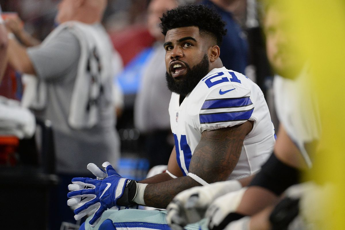 best authentic a1eb4 161f7 Ezekiel Elliott is using the only leverage he has (and it's ...