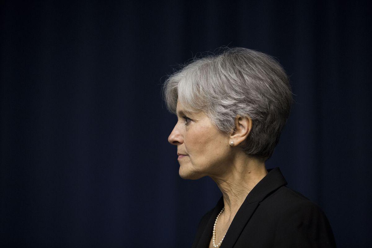 Jill Stein in Washington, DC.