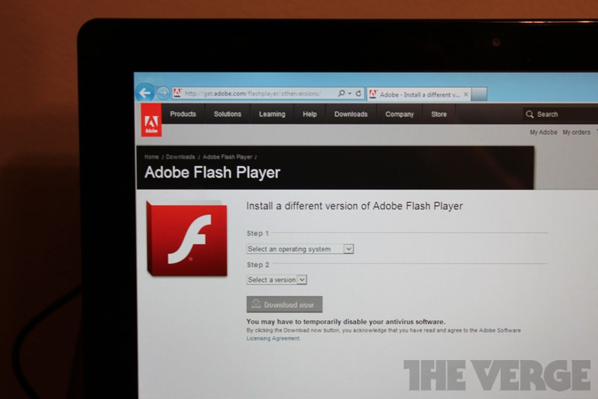 Windows 8 Metro-style Internet Explorer 10 doesn't support Flash