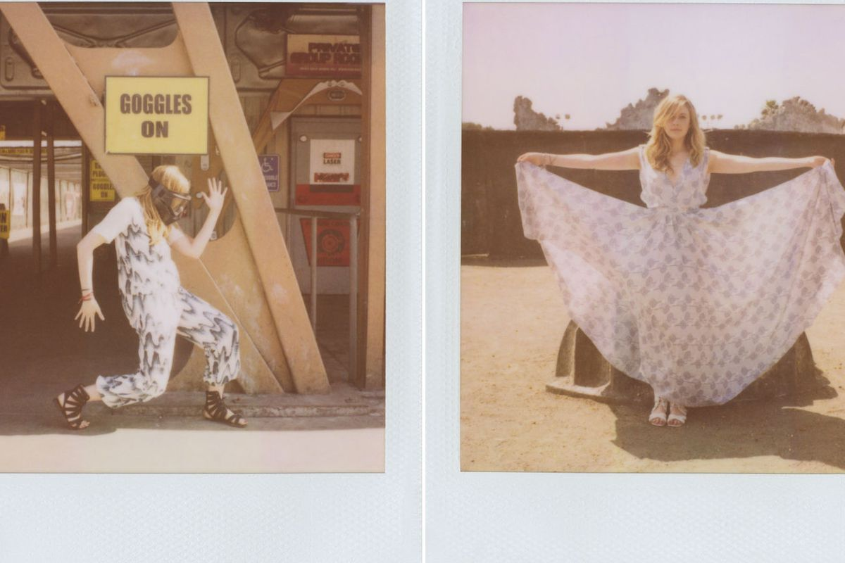 """Images via <a href=""""http://fashiongonerogue.com/greta-gerwig-stars-in-band-of-outsiders-spring-2013-campaign/"""">Fashion Gone Rogue</a>"""