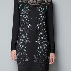 "<b>Zara</b> Tunic with lace back in black, <a href=""http://www.zara.com/webapp/wcs/stores/servlet/product/us/en/zara-us-W2012/269185/972543/TUNIC%20WITH%20LACE%20BACK"">$89.90</a>"