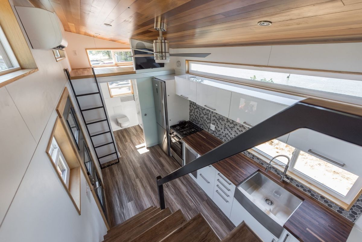 New tiny house features contemporary design details - Curbed