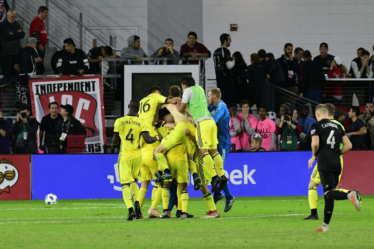 MLS: Knockout Round-Columbus Crew SC at D.C. United