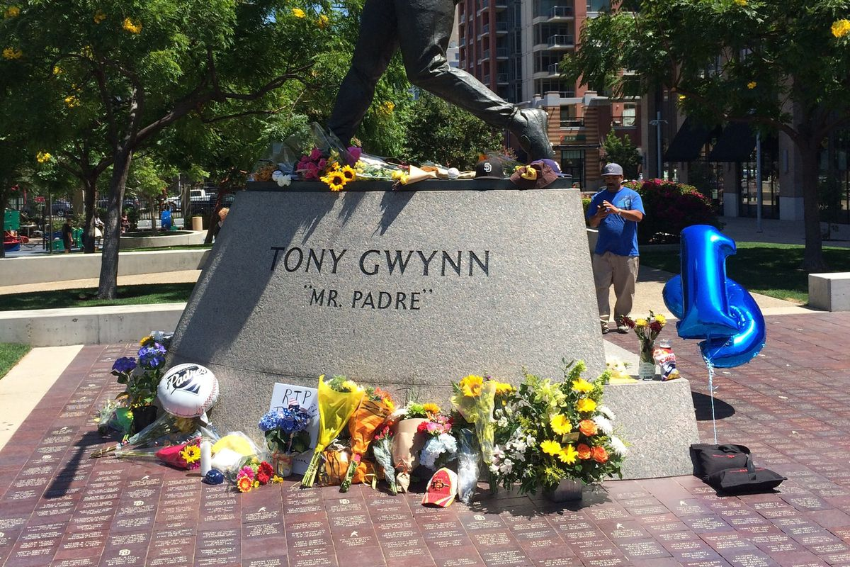Fans left tributes to their hero throughout the day.