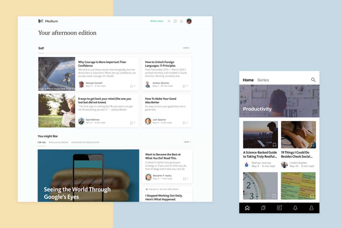 Medium makes its curated homepage available to all users - The Verge