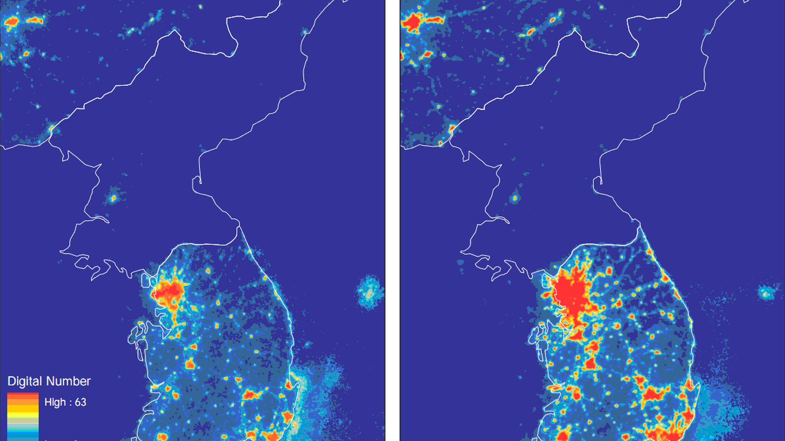 One map that shows just how poor north korea is vox gumiabroncs Image collections
