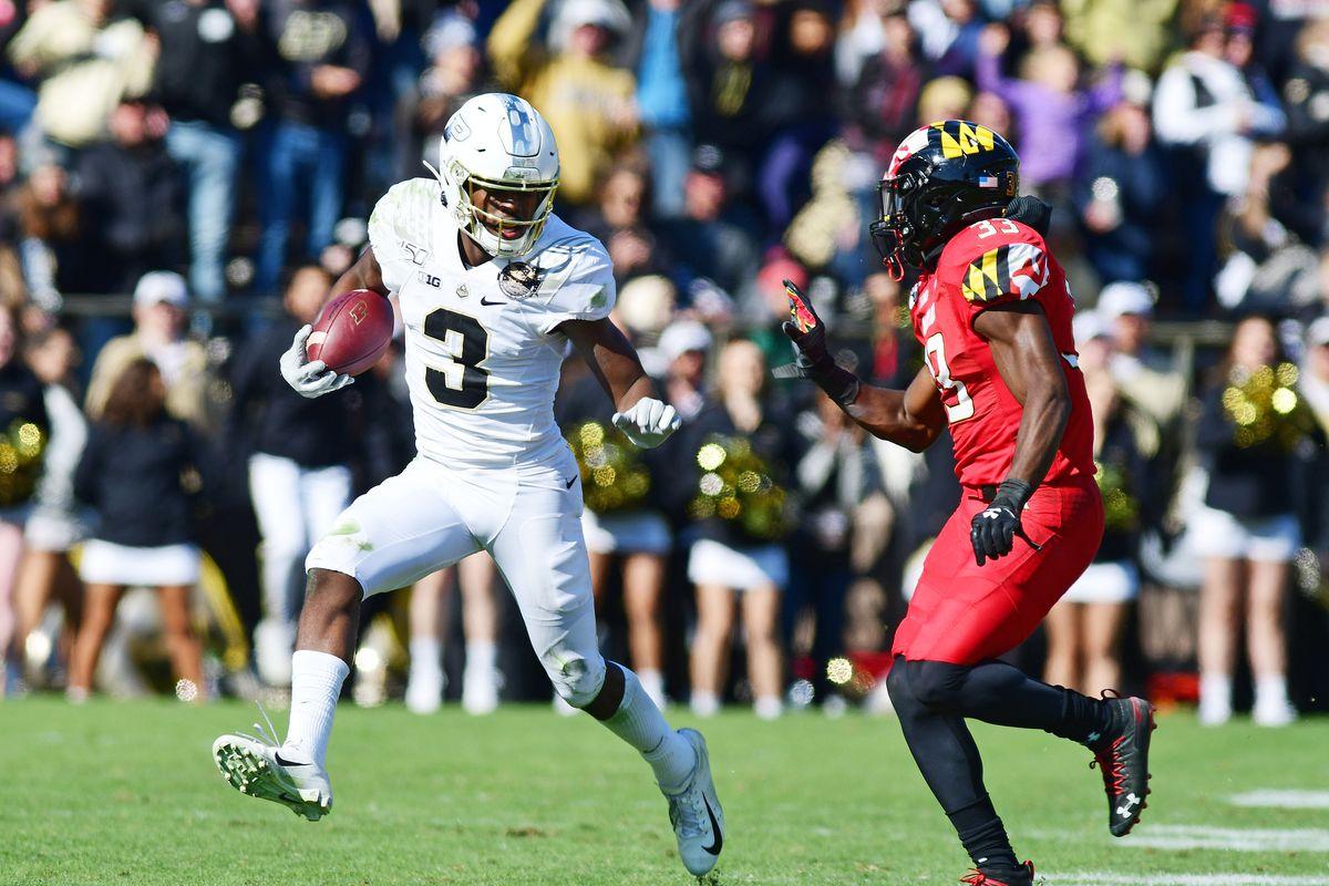 NCAA Football: Maryland at Purdue