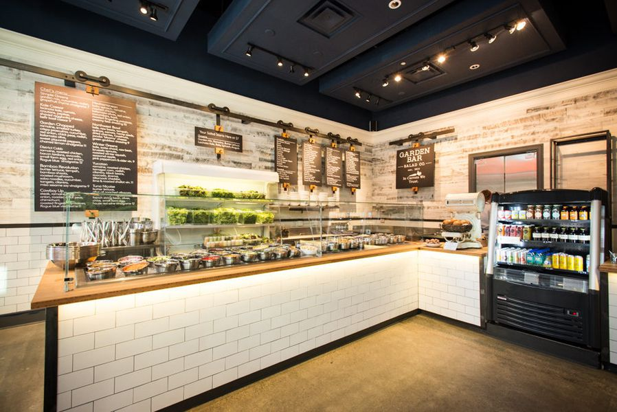 Inside Fast Casual Salad Spot Garden Bar Open Now Eater Portland