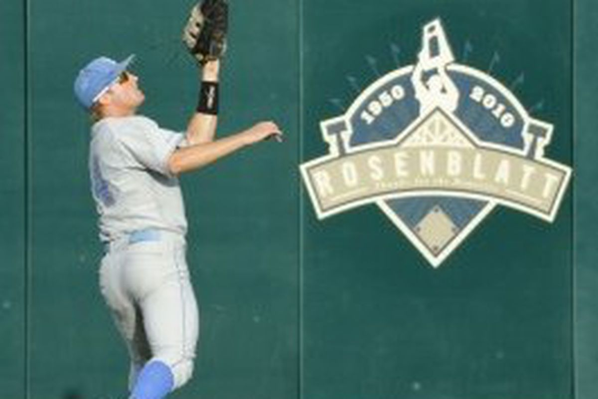 Versus a big hitting TCU team, the UCLA outfielders will likely have to chase down a fly ball or two (Photo Credit: Official Site)