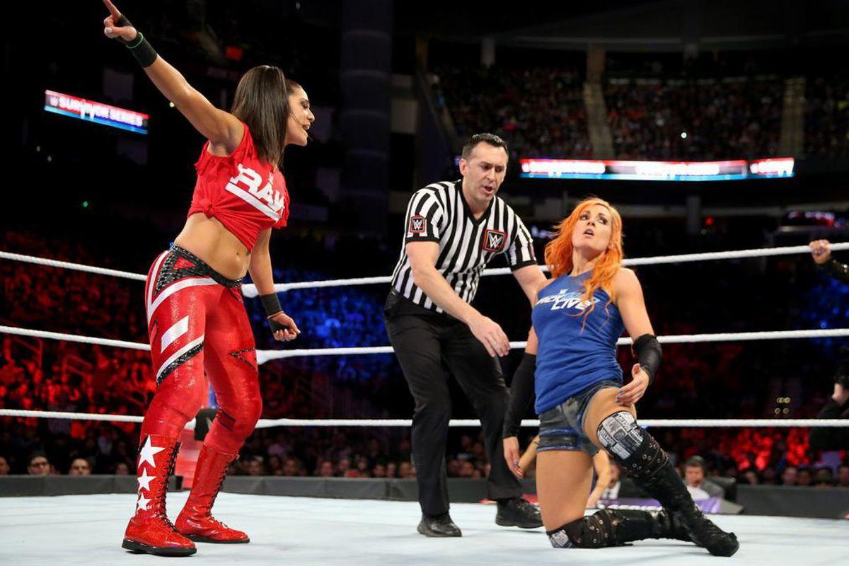 WWE Survivor Series 2017 match times stats breakdown - Cageside Seats