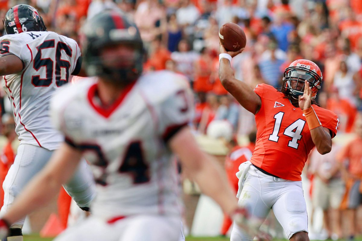 Virginia is beginning to work its hot-shot transfer QB into games.  Expect to see him some in Fort Worth.