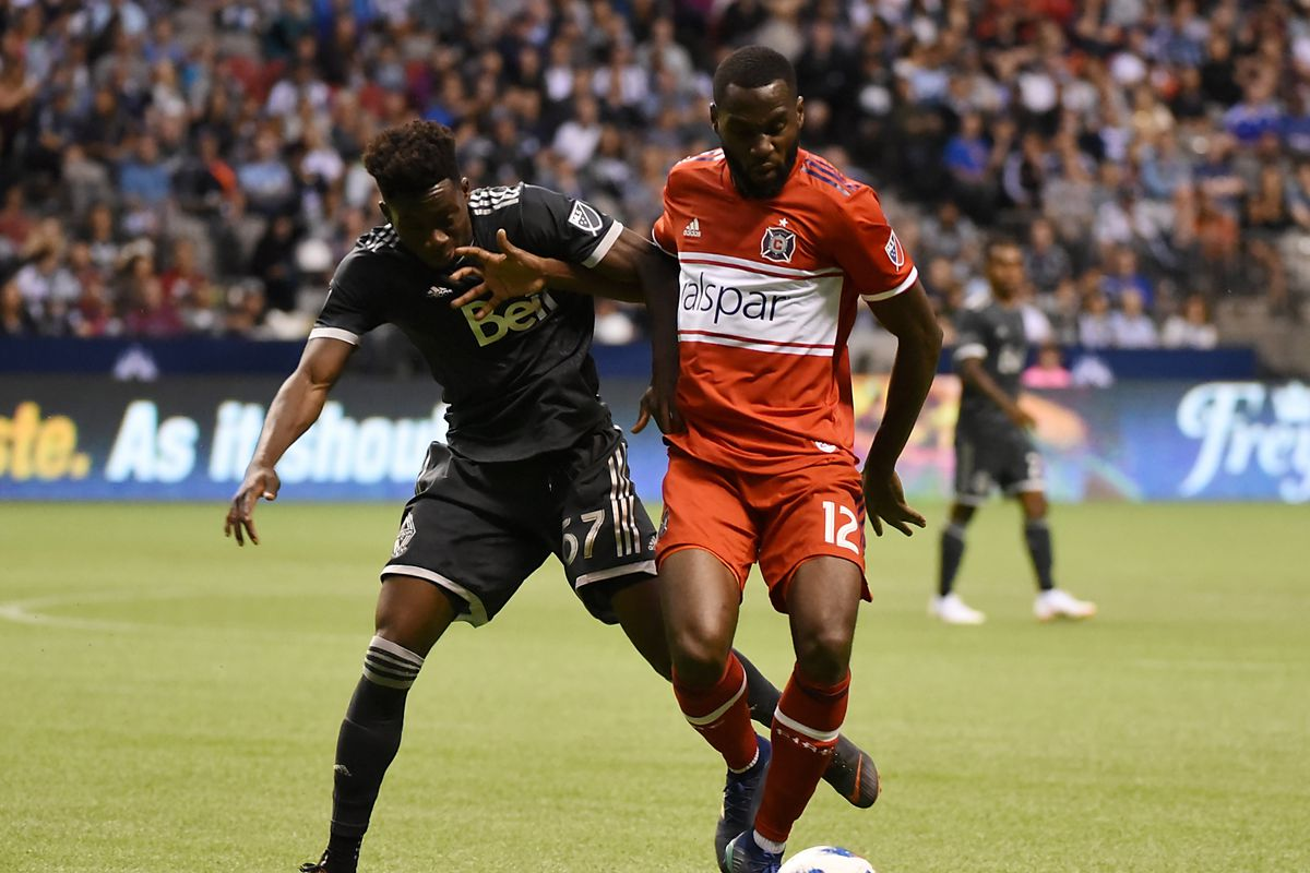 MLS: Chicago Fire at Vancouver Whitecaps