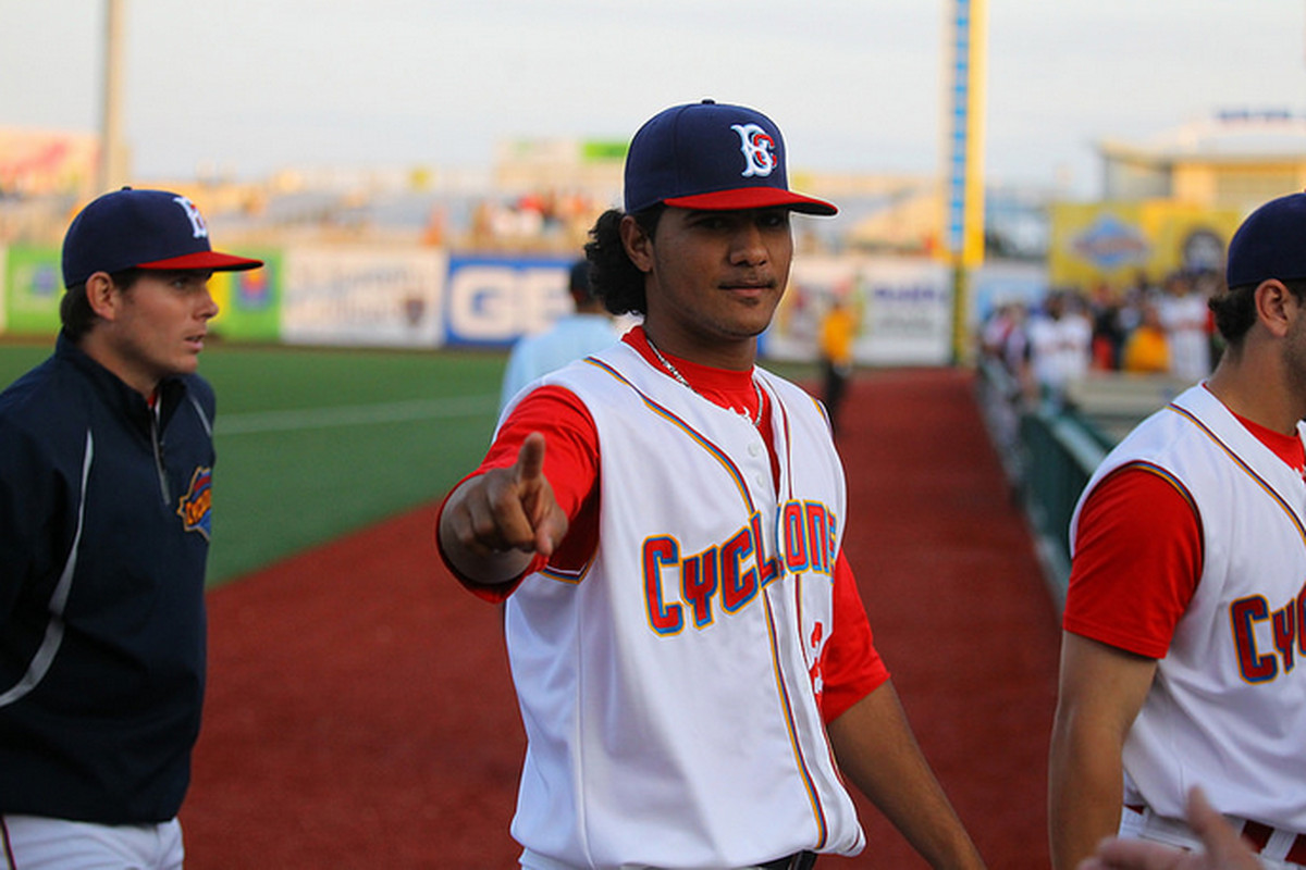 Marcos Molina struck out eight on the way to his fifth victory.
