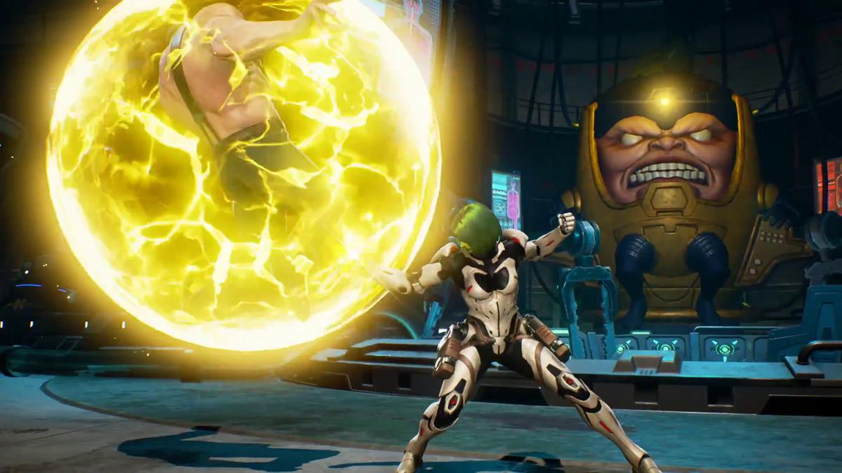 Marvel vs. Capcom: Infinite - Gamora using Mind Stone