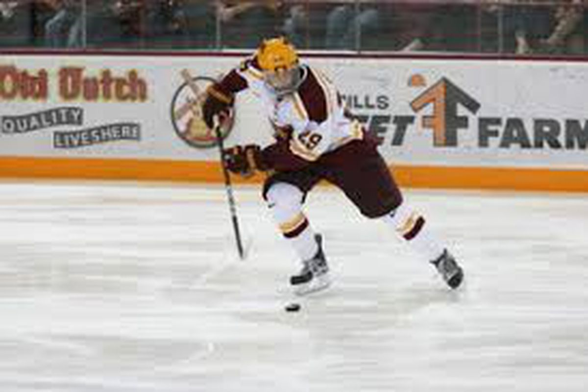 Gopher Hockey has Four Players Earn WCHA Awards for 2012 ...