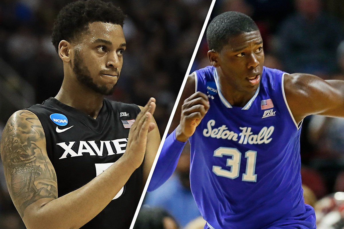 714d91817 Angel Delgado and Trevon Bluiett entered the Big East Conference in 2014.  Since then