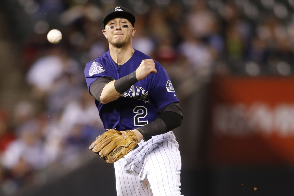 Troy Tulowitzki hit his 25th home run of the season in the 8-3 win over the Red Sox.