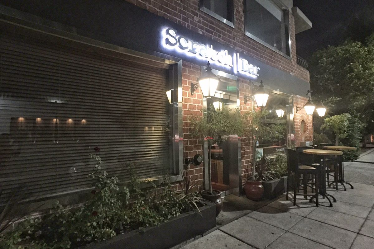 The still-open Scratch Bar in Beverly Hills