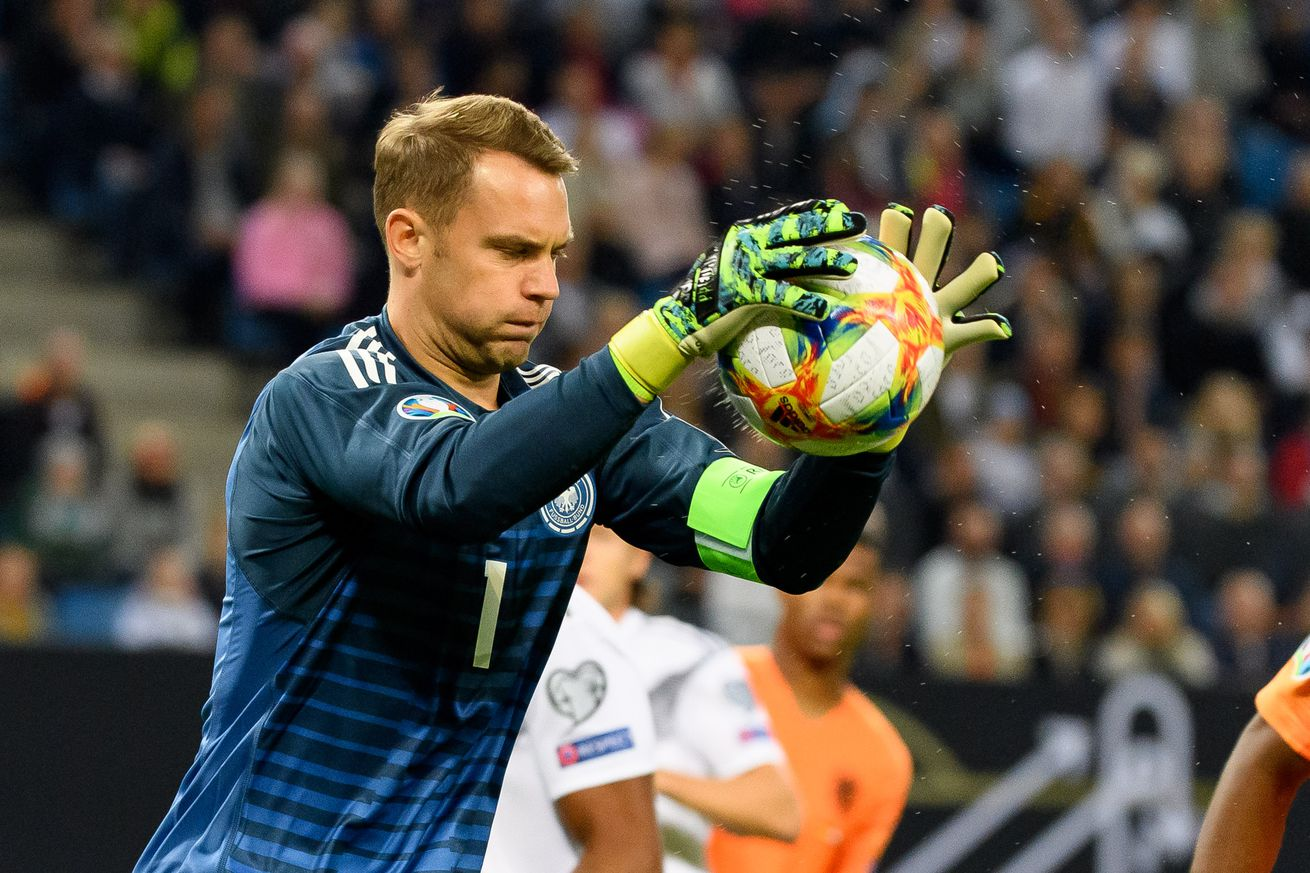 Bayern Munich and Germany goalkeeper Manuel Neuer won?t retire until he?s no longer needed